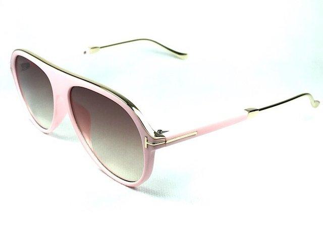 22b498285 Óculos de Sol Aviador Adulto Rosa - comprar online ...