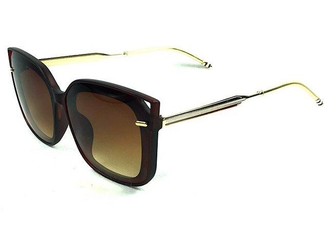 ... Óculos de Sol Adulto Feminino Claudine Marrom - comprar online bf7993e002