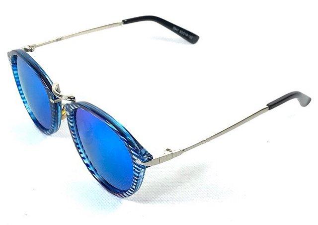 4c1b17e493c22 ... Óculos de Sol Adulto Feminino Espelhado Azul - comprar online ...