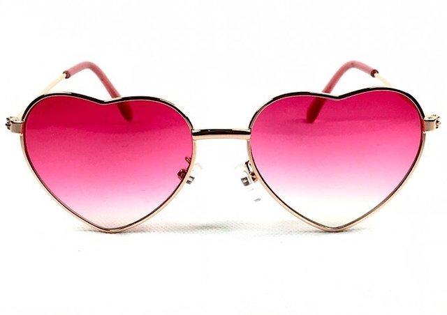 aabe292719053 Óculos Coração Cor de Rosa - Óculos Marinos