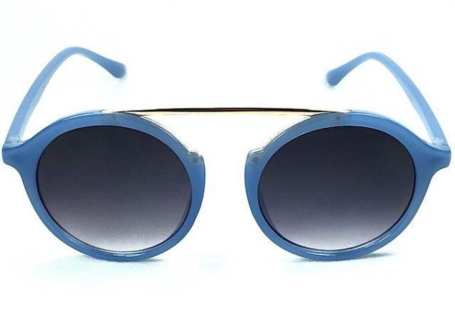 8fb8b05c5 Óculos de Sol Adulto Feminino Lavínia Azul