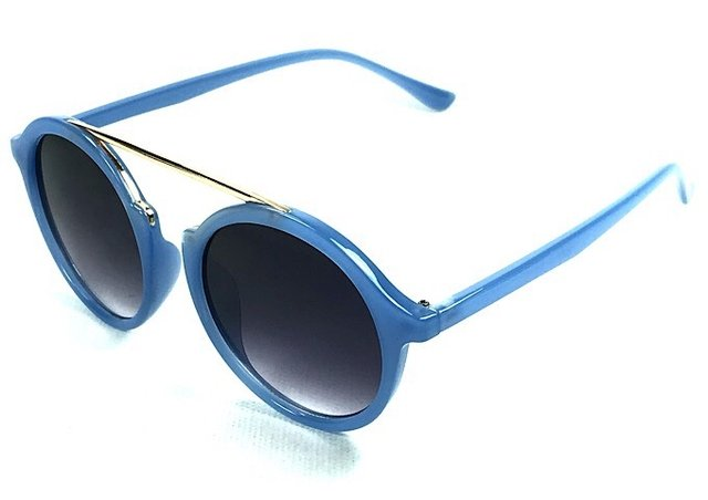 9f1f33b88 Óculos de Sol Adulto Feminino Lavínia Azul - comprar online ...
