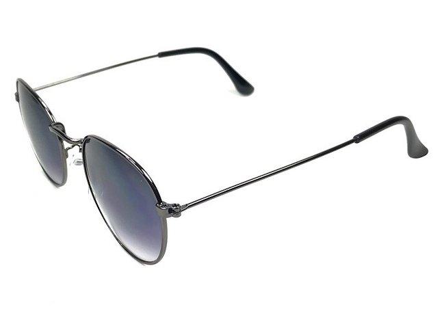 eda09419d Óculos de Sol Adulto Cloe Prata Velha Lente Fumê Degradê - comprar online  ...