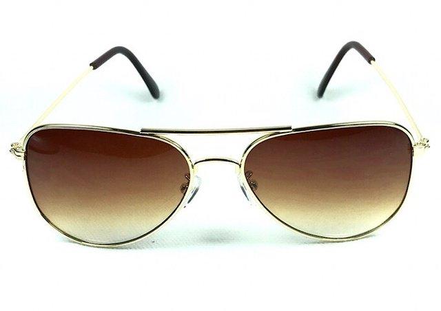 Óculos de Sol Aviador Marrom Adulto - Óculos Marinos f29f3b3448