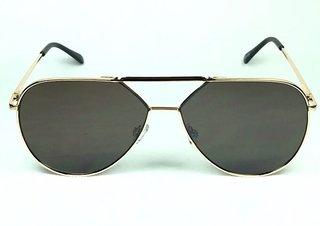 Óculos de Sol Aviador Adulto Espelhado Marrom Flash 361955e5c5