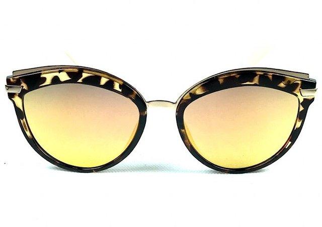 Óculos de sol adulto feminino espelhado f8617cf532