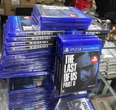 Game The Last Of Us II - PS4 -  2 Disco - comprar online