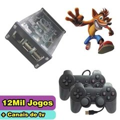 Video Game Raspberry Com 12 Mil Jogos + Canais De Tv - Novo