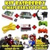 Raspberry Multijogos +completa E +barato Do Ml !!!