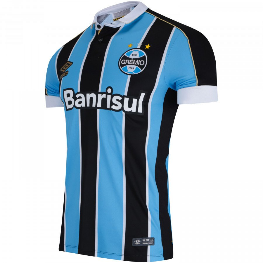 a5028599cd Camisa do Grêmio I 2019 Umbro - Masculina