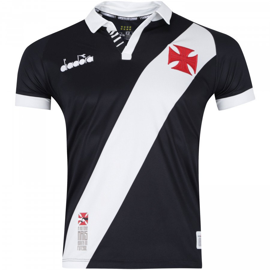 0257535e03 Camisa do Vasco da Gama I 2019 Diadora - Masculina