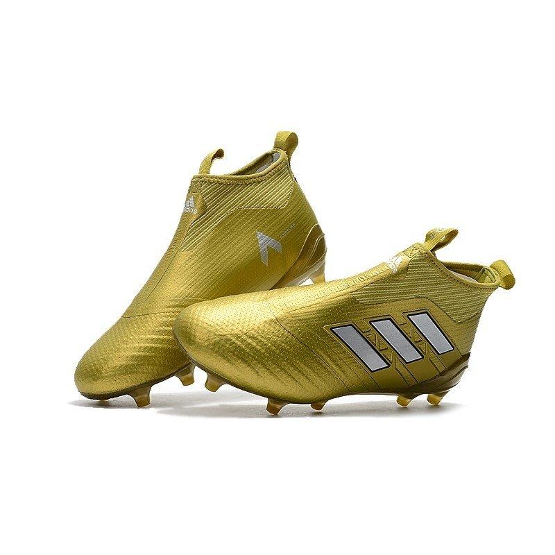 98f3b948eb Chuteira Adidas Ace 17+ Purecontrol FG gold. 1