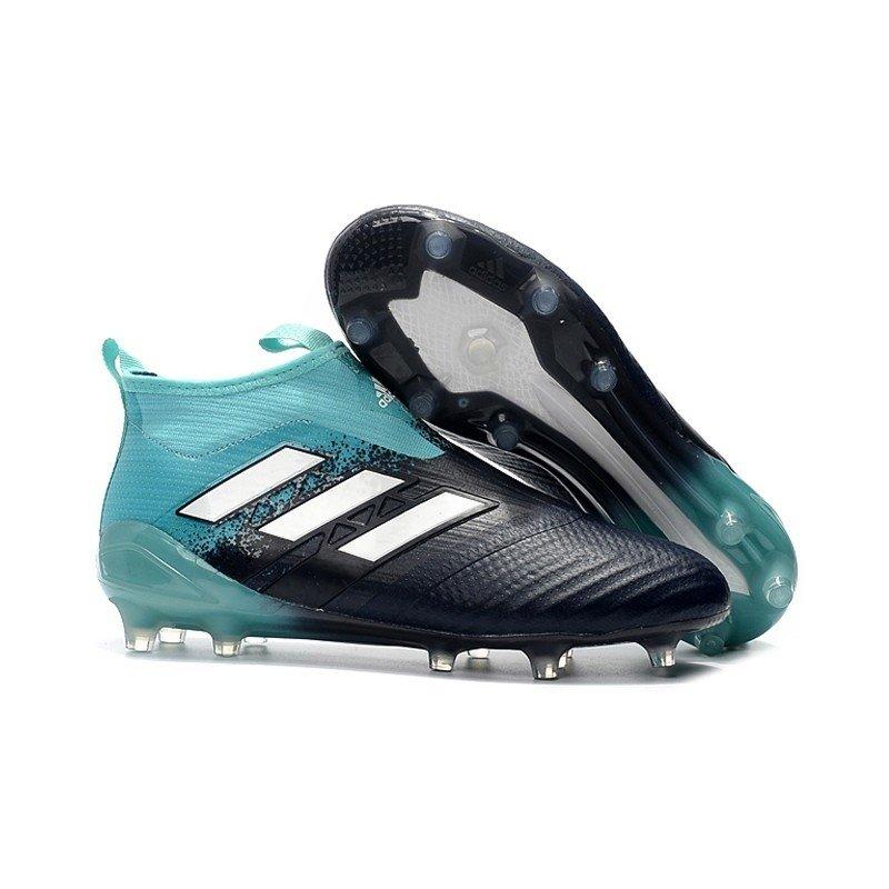 6da10a5c462 Chuteira Adidas Ace 17+ Purecontrol FG Azul Claro/Preto