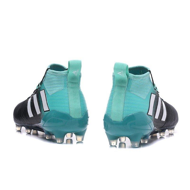 55f4deca0a Chuteira Adidas Ace 17.1 Purecontrol FG Azul-Claro Preto