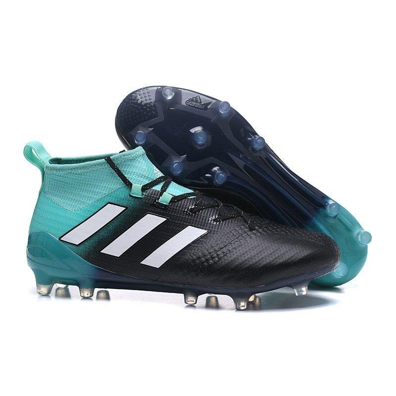 dc9fa6e0d9c Chuteira Adidas Ace 17.1 Purecontrol FG Azul-Claro/Preto