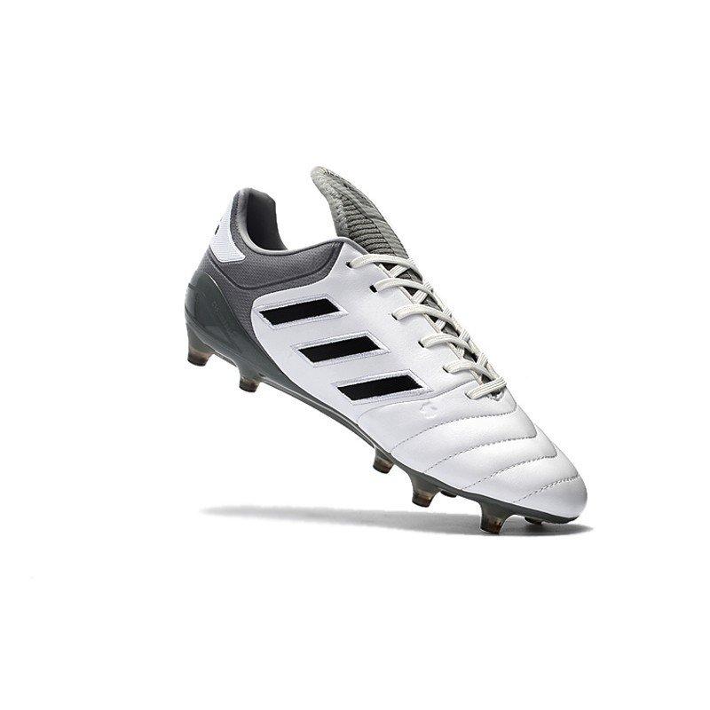 bd69ad278c Chuteira Adidas Copa Mundial 17.1 FG Branco Cinza Logo Preto. 0% OFF