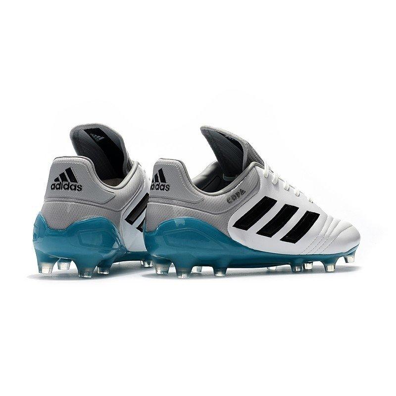38ec12db01 Chuteira Adidas Copa Mundial 17.1 FG Branco Cinza Sola Azul. 0% OFF