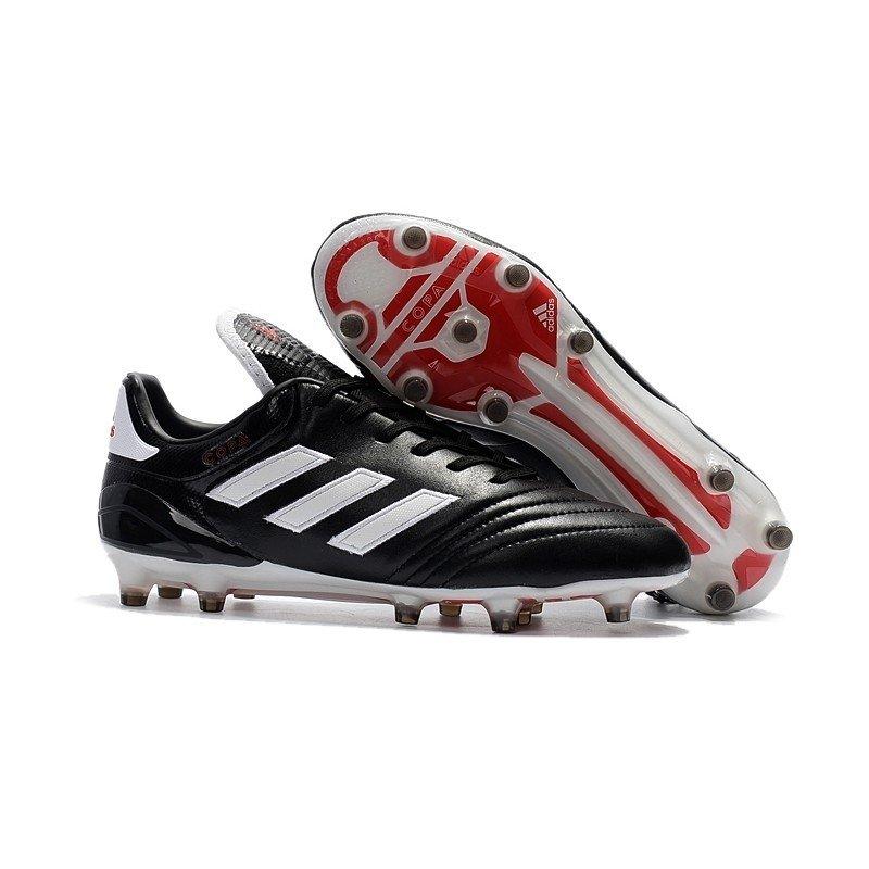 size 40 b51b8 9de4c Chuteira Adidas Copa Mundial 17.1 FG Branco Preto Sola Vermelha