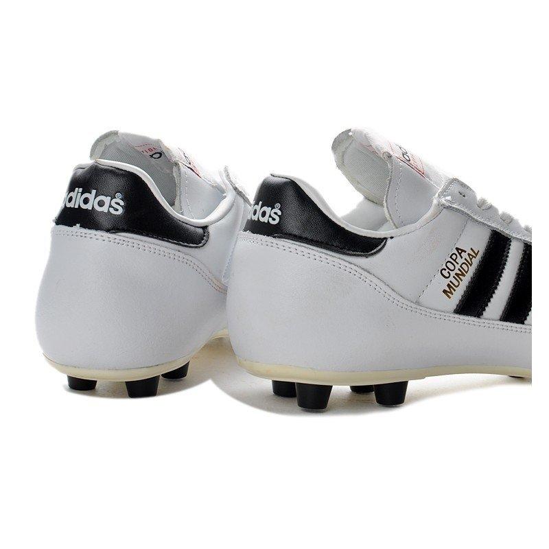 670996ed4573f Chuteira Adidas Copa Mundial Classica FG Branca/Logo Preto