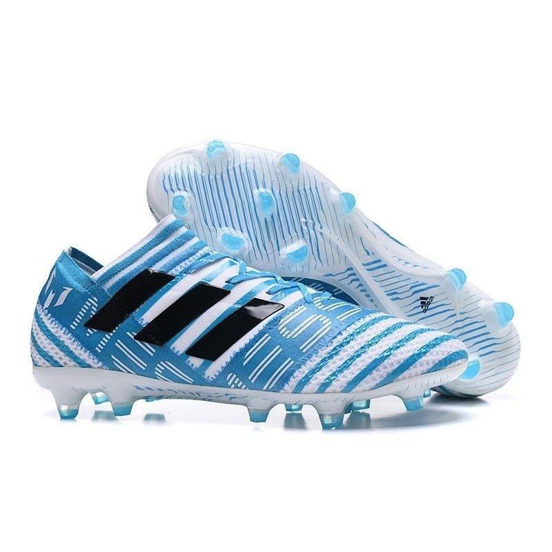 3833400e1d Chuteira Adidas Nemeziz 17.1 Azul Branco - BNV MAGAZINE