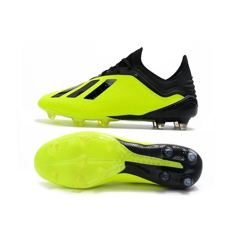 a9f23858d6 Chuteira Adidas X 18.1 Amarelo Preto - BNV MAGAZINE