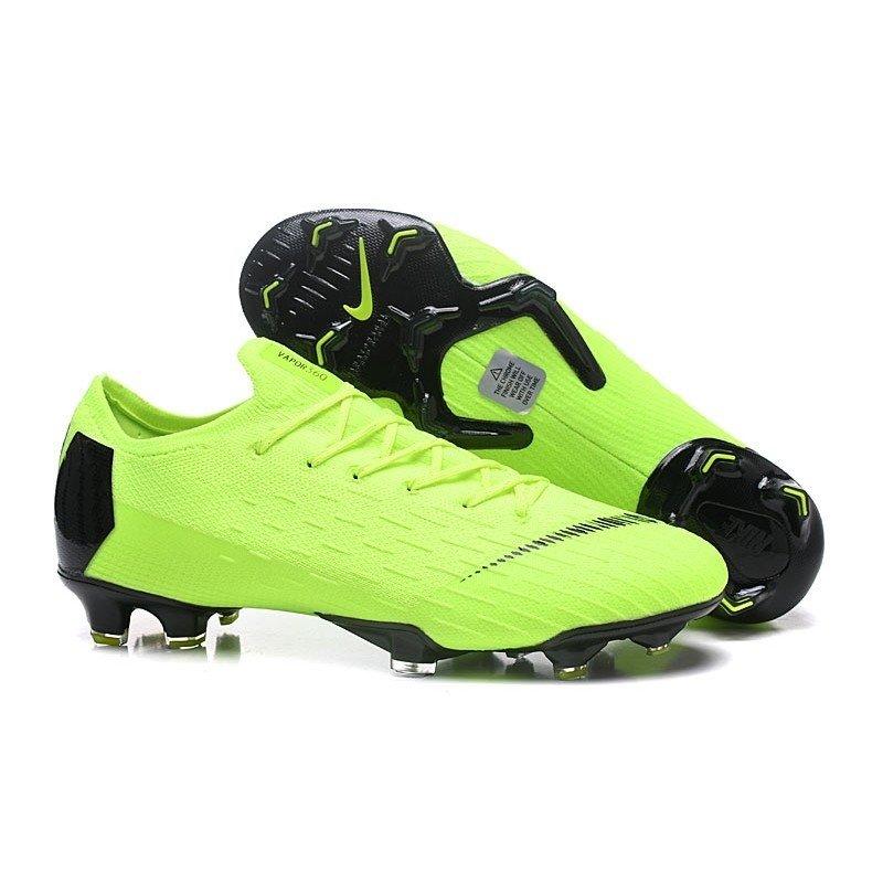 b4d6b5e780 Chuteira Nike Mercurial Born 360 Low Verde-Escuro Preta