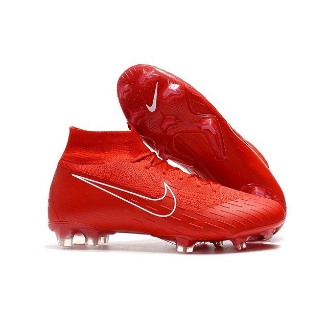 Chuteira Nike Mercurial Superfly 360 Elite FG Vermelho Logo Vermelho  Contorno Branco 9f51ba74ab65e