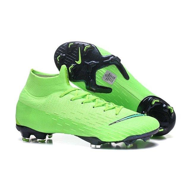 Chuteira Nike Mercurial Superfly 360 Elite FG Remake 2018 Verde limão 2455270e01aec
