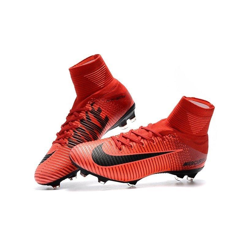 Chuteira Nike Mercurial Superfly V Vermelho Fire. 0% OFF 06d9548746393