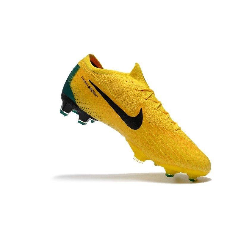 41bdd074eecce Chuteira Nike Mercurial Vapor XII Elite FG Remake 2006 Amarelo/Verde. 1
