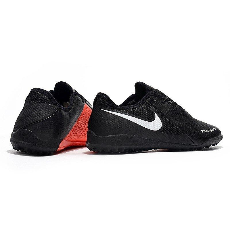 2b18d75eaa Chuteira Nike Phantom Vision Academy Society Preto e Vermelho  Logo Preta e detalhes  cinza