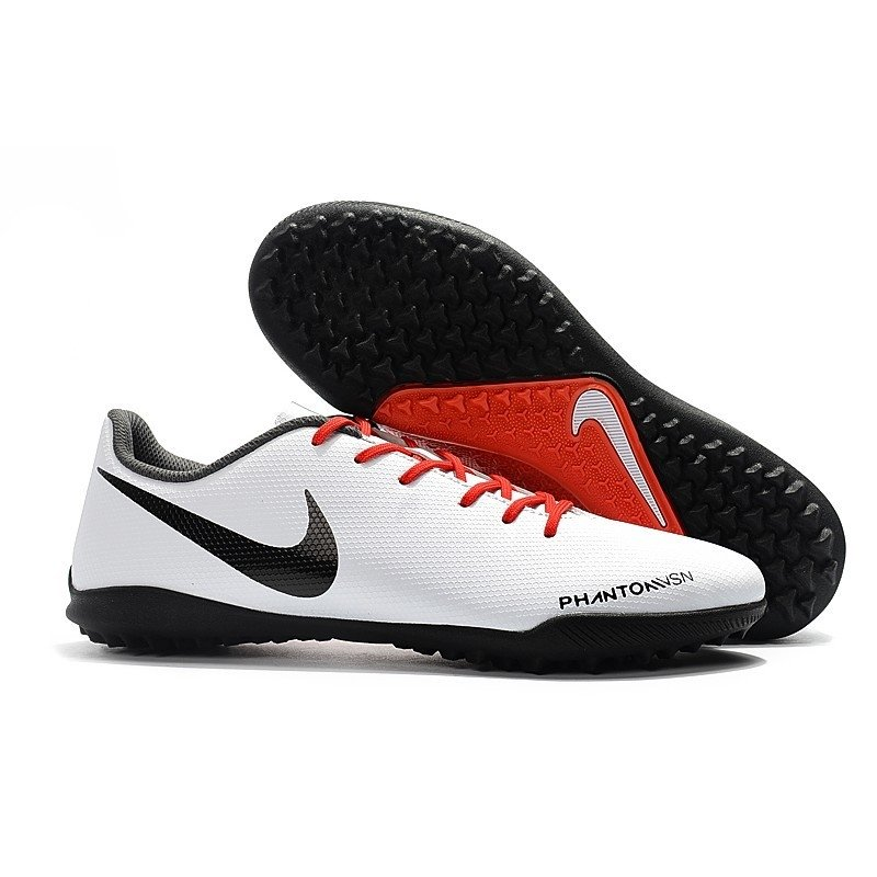 a7c404af72 Chuteira Nike Phantom Vision Academy Society Branco Logo Preta Detalhes  Vermelho