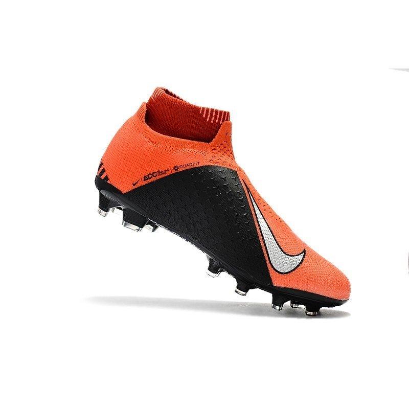 05f26469790eb Chuteira Nike Phantom Vision Elite FG Laranja/Prata. 1