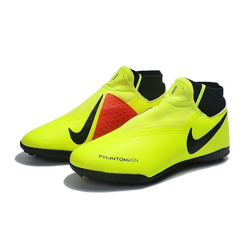 888308c1660 Chuteira Nike Phantom Vision Elite TF Amarelo/Vermelho