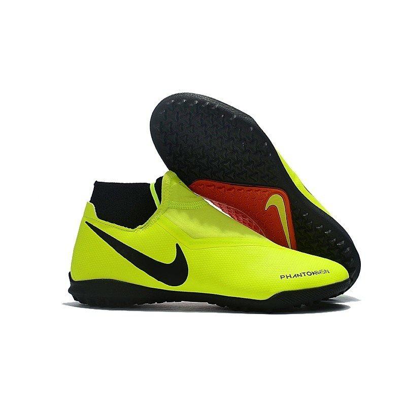 93b0f177c1a2d Chuteira Nike Phantom Vision Elite TF Amarelo/Vermelho