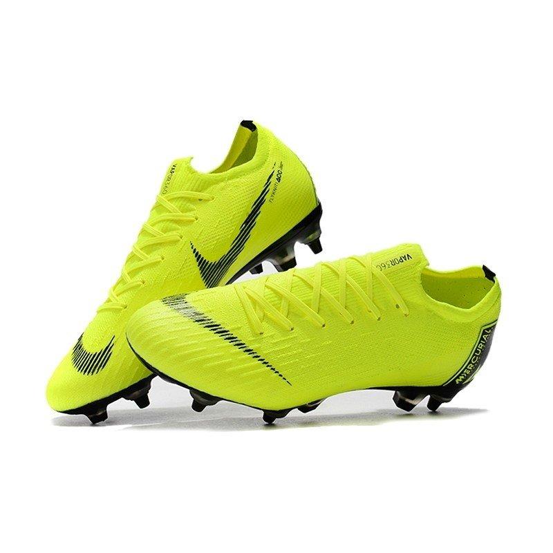 Nike Mercurial Vapor Fury VII Elite Low SG Verde Preto 9be386b6ccd64