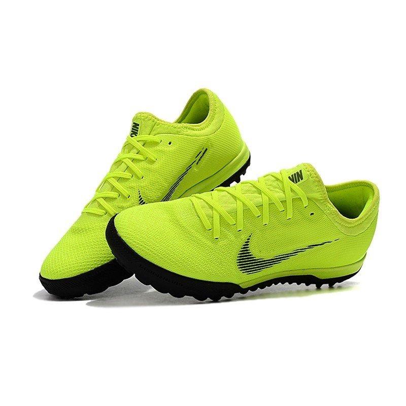 67fdc1077e Tênis Nike Mercurial Society SuperFly VI Low Verde Limão Preto
