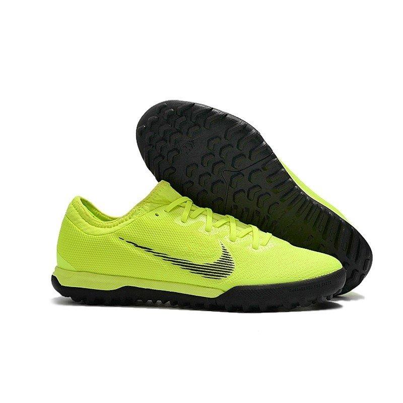 4d13f2c6cf5 Tênis Nike Mercurial Society SuperFly VI Low Verde Limão Preto