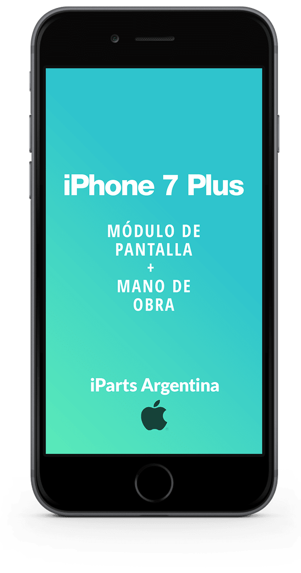 iPhone 7 Plus Pantalla + Colocación