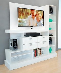 Rack Mueble Para Tv Modular Smart Led Hasta 55 - comprar online