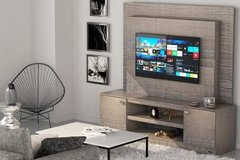 Combo Mueble Rack + Panel Soporte Para Tv Led Smart  Moderno en internet