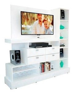 Rack Mueble Para Tv Modular Smart Led Hasta 55