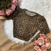 Cropped Animal Print em Tule