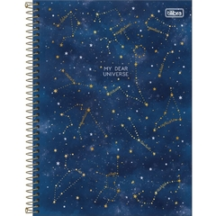 Caderno Universitário 1 Matéria Magic Espiral Capa Dura 80Fls (Tilibra) na internet