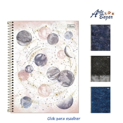 Caderno Universitário 1 Matéria Magic Espiral Capa Dura 80Fls (Tilibra)
