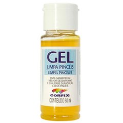 GEL LIMPA PINCEIS 100ML (CORFIX)