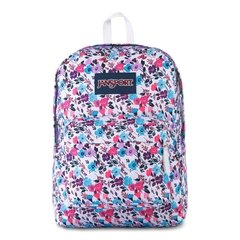 MOCHILA JANSPORT SUPERBREAK UNISSEX 100% POLIESTER Modelo:PETAL TO THE METAL