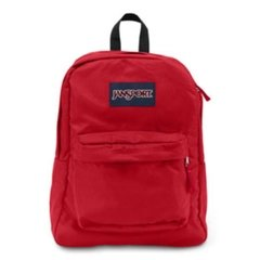 MOCHILA JANSPORT SUPERBREAK UNISSEX 100% POLIESTER Modelo:RED TAPE