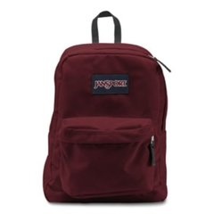 MOCHILA JANSPORT SUPERBREAK UNISSEX 100% POLIESTER Modelo:VIKING RED