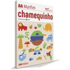 PAPEL SULFITE A4 CHAMEQUINHO 75grs 100 folhas 210x297mm (CHAMEX) - loja online